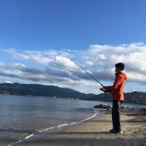 夕釣り体験
