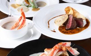 橋立ベイホテル_かに創作フランス料理Bコース(縦)
