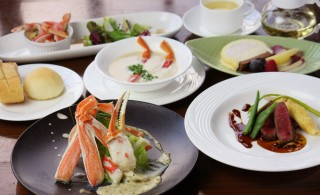 橋立ベイホテル_かに創作フランス料理Aコース(横)