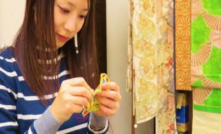 ②縫い縫い・・・。今回は針山を作ります☆