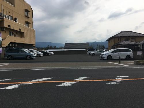 松井物産駐車場