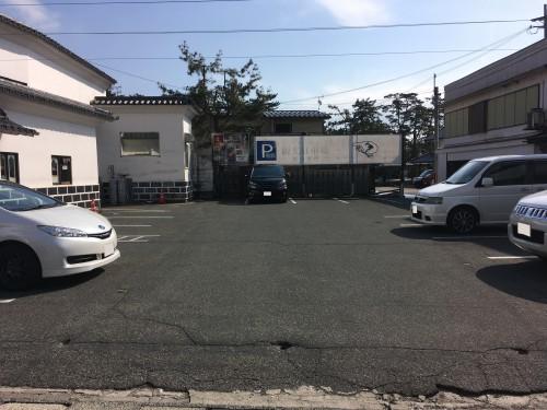 龍燈の松駐車場