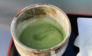 地元業者の抹茶