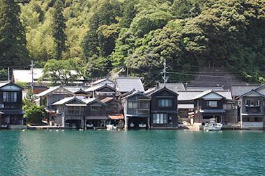 画像:伊根の舟屋散策