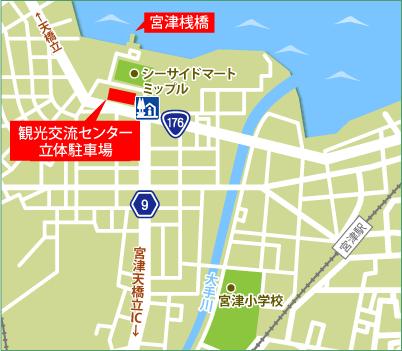 パーク&クルーズ 駐車場マップ