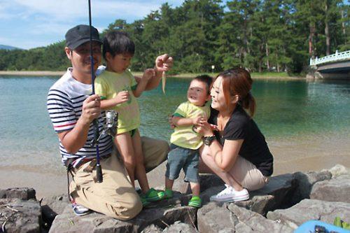 天橋立朝釣り体験